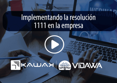 Implementando la resolución 1111 en la empresa