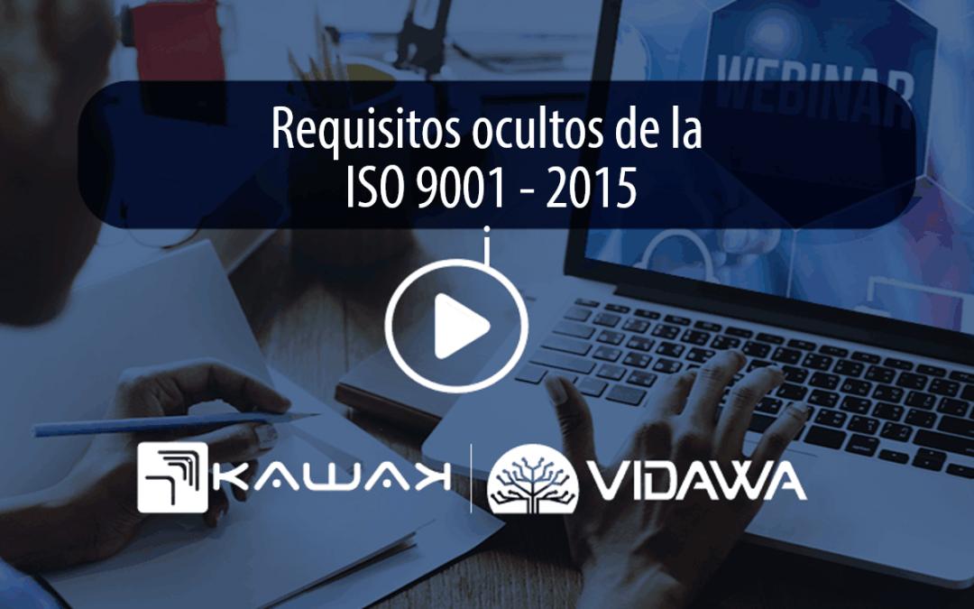 Requisitos ocultos ISO 9001 – 2015
