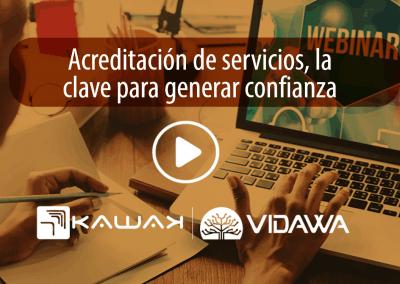 Acreditación de servicios, la clave para generar confianza