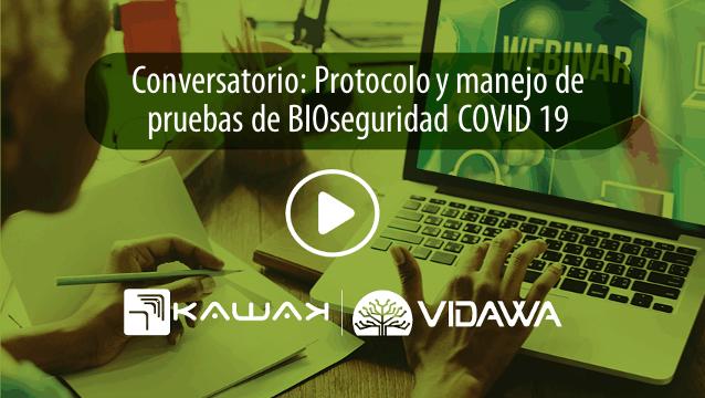 Conversatorio: Protocolo y manejo de pruebas de BIOseguridad COVID 19