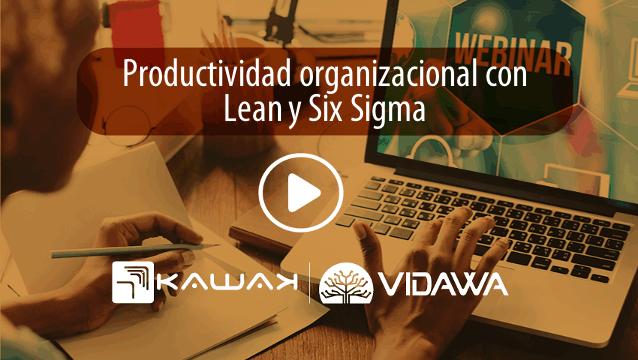 Productividad organizacional con Lean y Six Sigma