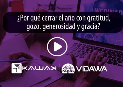 ¿Por qué cerrar el año con gratitud, gozo, generosidad y gracia?