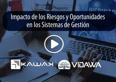 Webinar Impacto de los Riesgos y Oportunidades en los Sistemas de Gestión